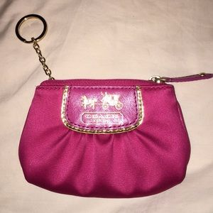Coach change purse NWOT